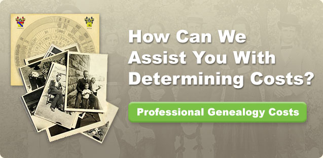 Genealogy costs