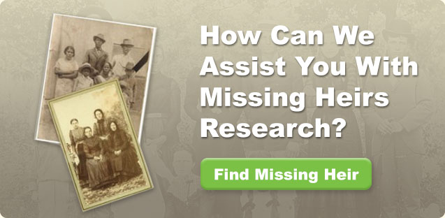 Missing heirs